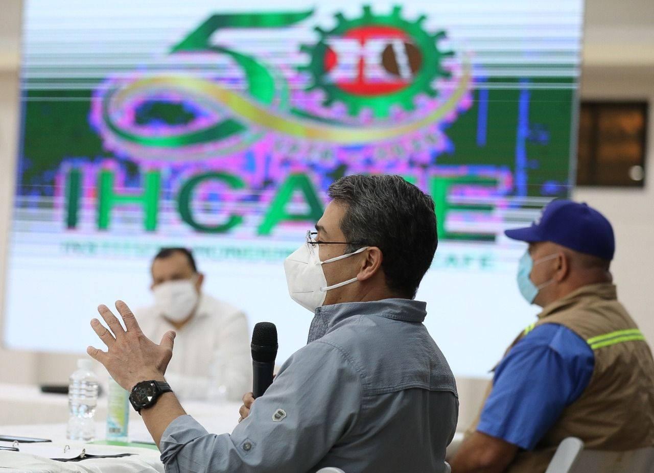 """Presidente Hernández: """"Espero que pronto nuestra economía esté al 100 % enfrentando esta nueva normalidad"""""""