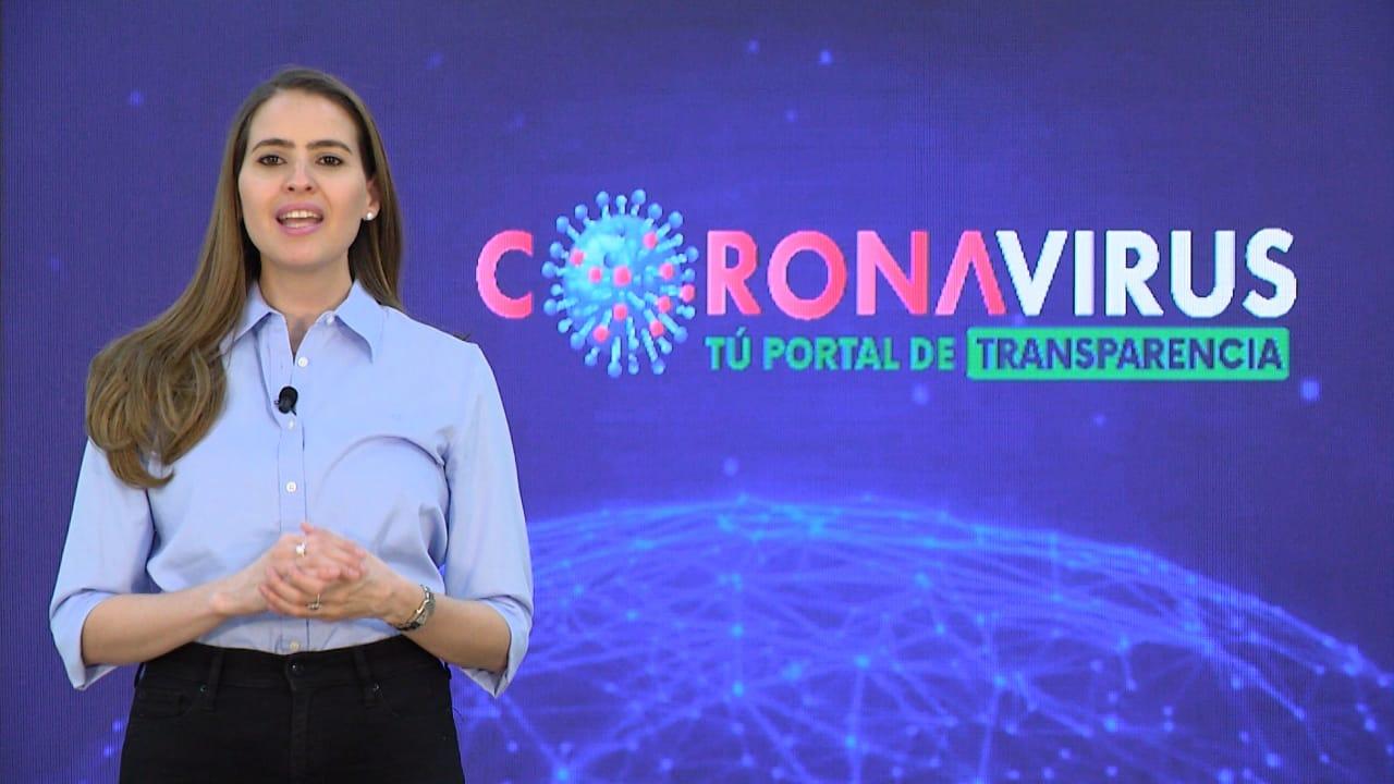 Gobierno lanza el Portal de Transparencia para la Emergencia del Coronavirus