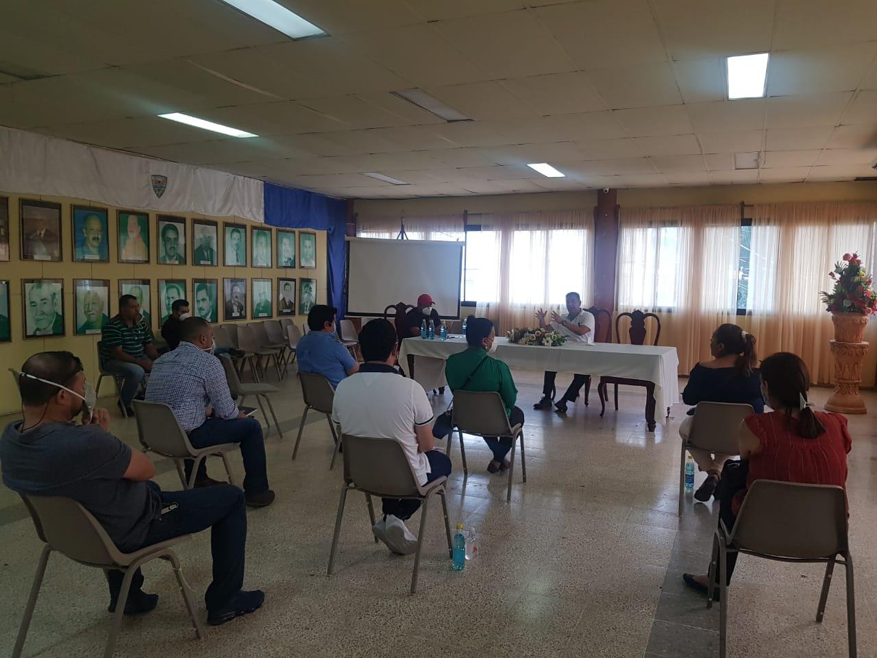 Preparan apertura gradual e inteligente de la Alcaldía  de Siguatepeque