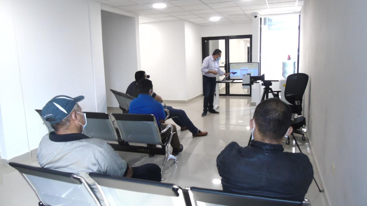 Personal de la Fiscalía de Comayagua se capacita para prevenir el Covid-19