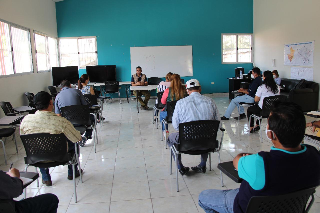 Alcalde Morales se reunió con la comisión de compras de la Operación Honduras Solidaria