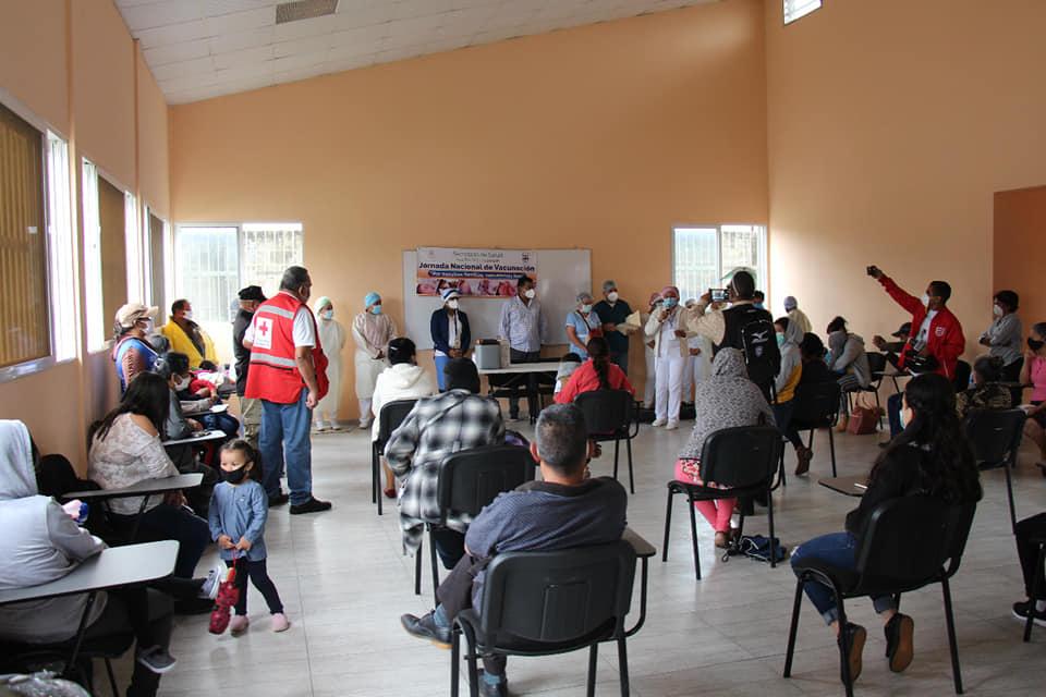 Inicia jornada de vacunación en Siguatepeque
