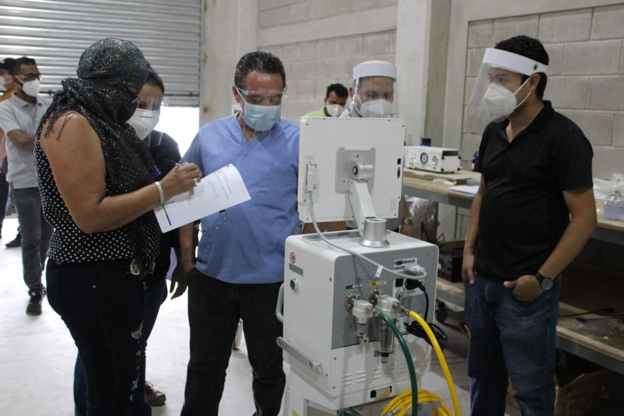 La Secretaría de Salud recibe 40 ventiladores mecánicos