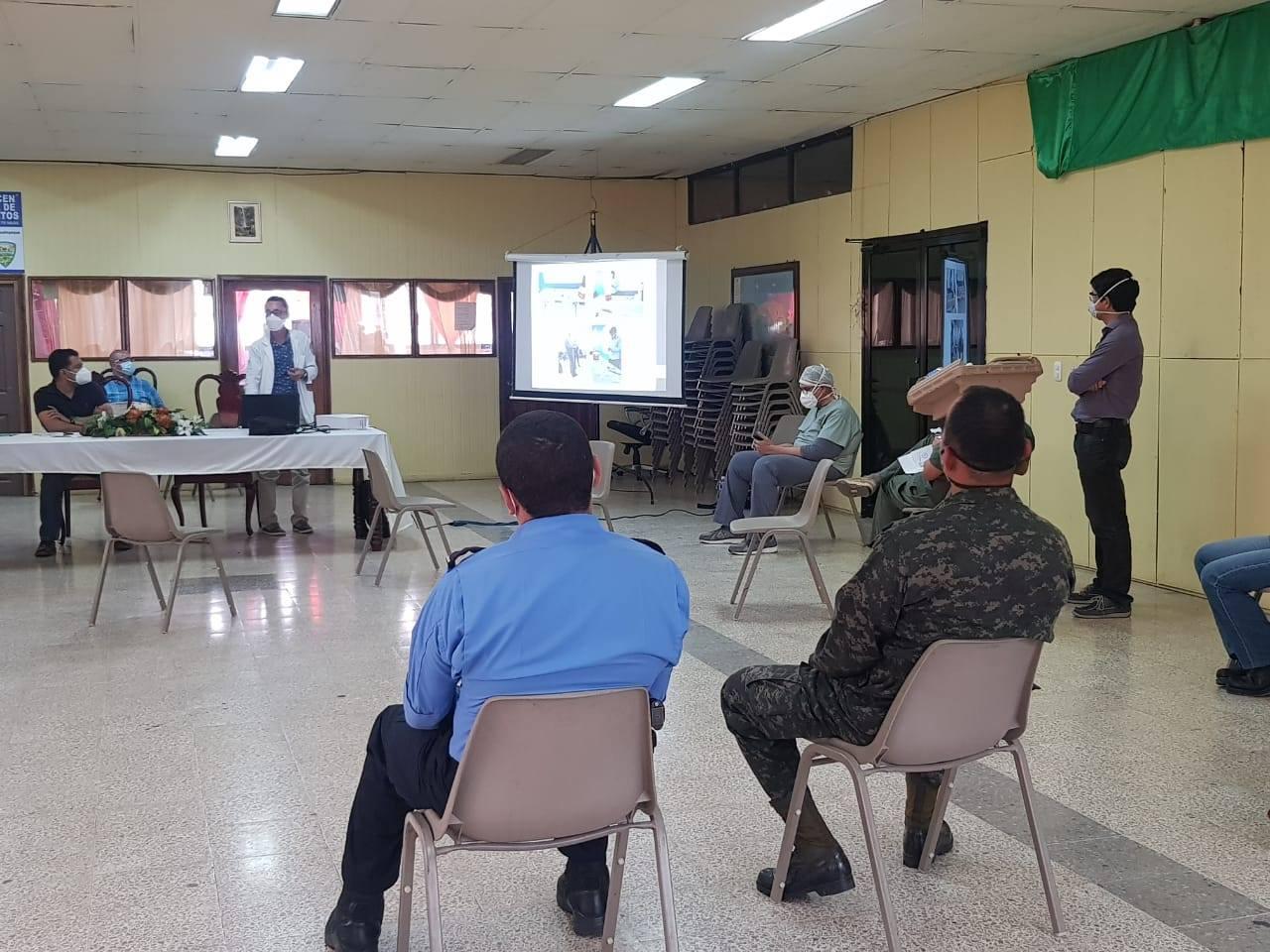 Municipes de Siguatepeque conocen informe de Unidad COVID-19/CODEM