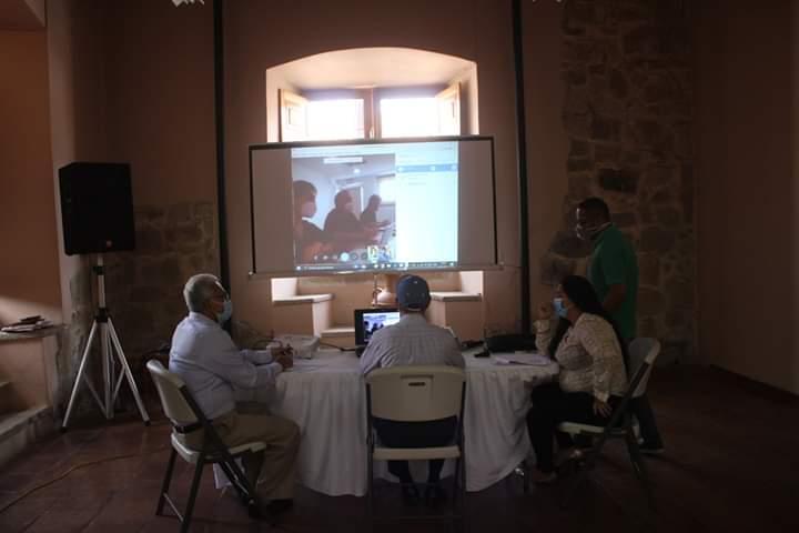 Diseñan estrategia para reanudar actividades en la  escuela taller de Comayagua