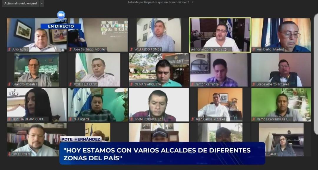 «Fuerza Honduras» inicia con primeras trasferencias a 12 alcaldías inicialmente que incluye al gobierno municipal de Siguatepeque