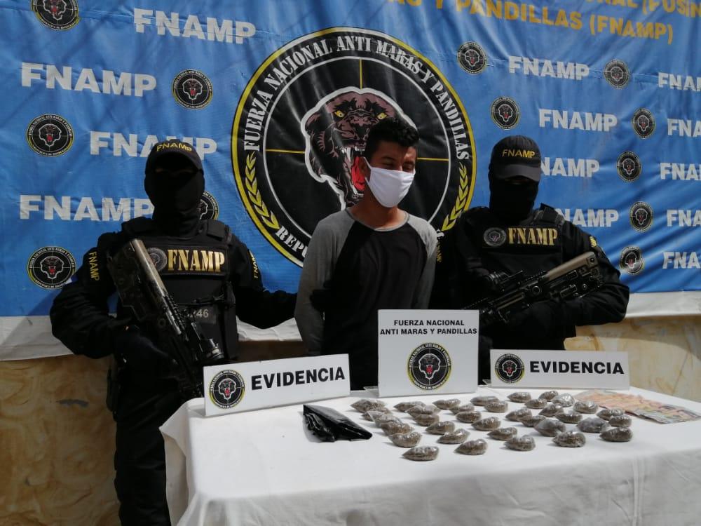 FNAMP continúa desarticulando las estructuras de cobro de extorsión y venta de Drogas con la captura de 2 miembros de la Mara Salvatrucha MS-13