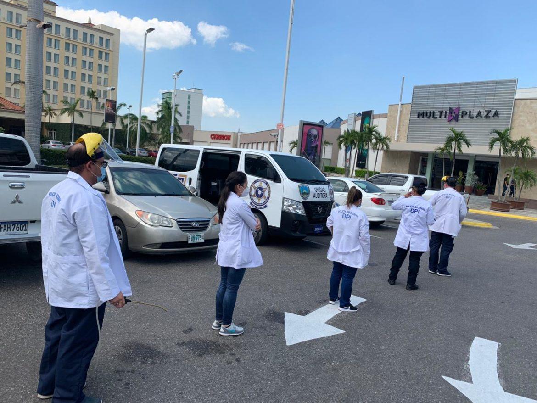 Unidad de Control de Riesgo Sanitario y Bioseguridad realiza inspecciones en comercios de la zona norte del país