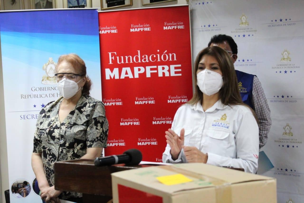 Fundación Mapfre dona 105.000 artículos de bioseguridad para los Hospitales Escuela y San Felipe