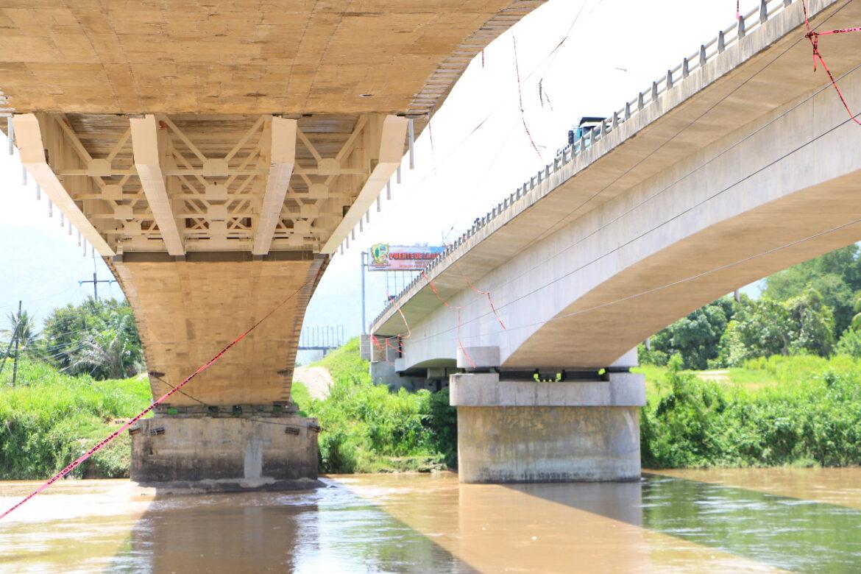 Casi listo proyecto de reconstrucción de puente «La Democracia» sobre rió Ulua