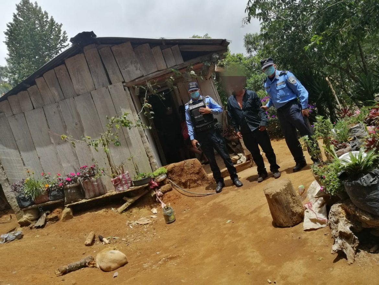 Tras dar muerte a un ciudadano policías preventivos detienen a sospechoso del hecho criminal