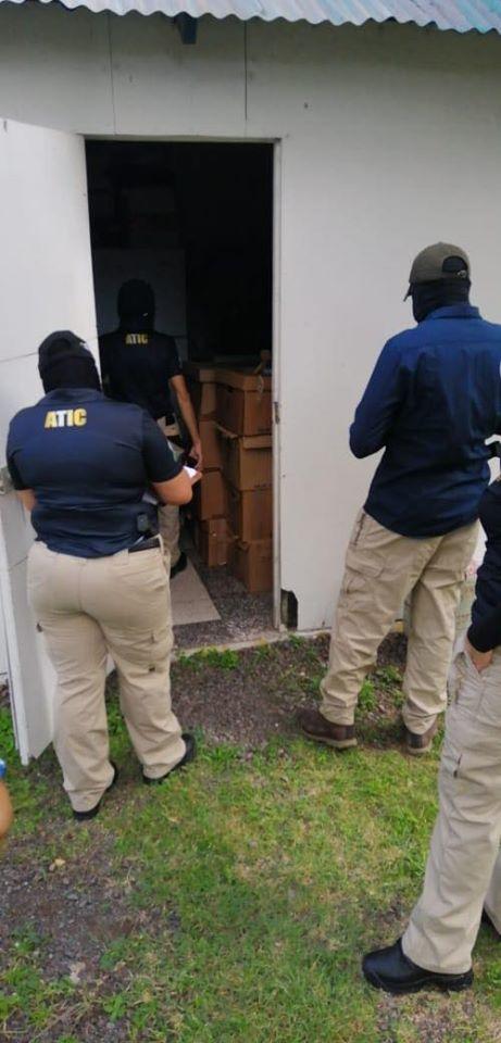Fiscales Anticorrupción y Agentes#ATICconfirman el hallazgo de información de INVEST-H en la casa de la madre de Marco Bográn