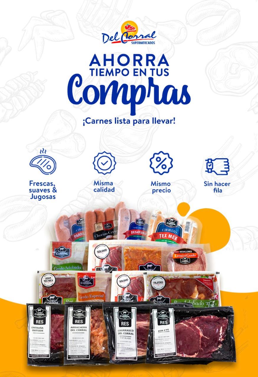 Carnes listas para llevar compra en Supermercados Del Corral