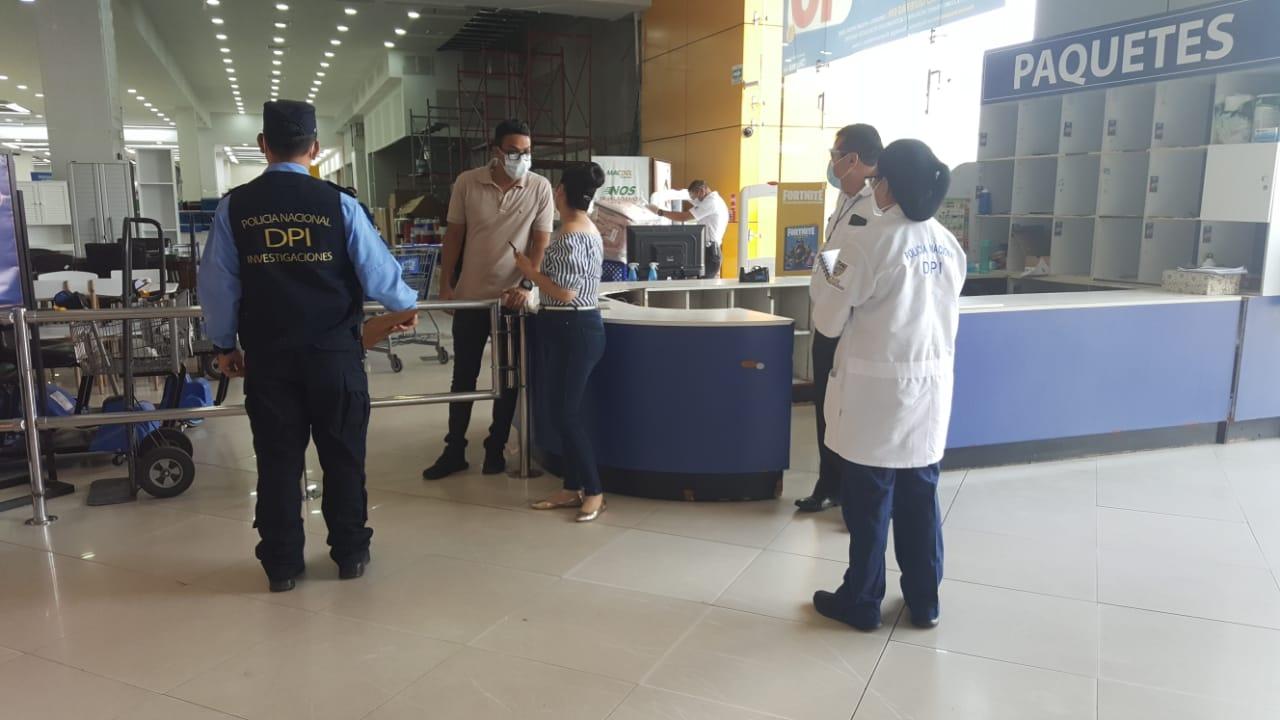 Policía atiende denuncias sobre incumplimiento de medidas de bioseguridad en establecimientos comerciales