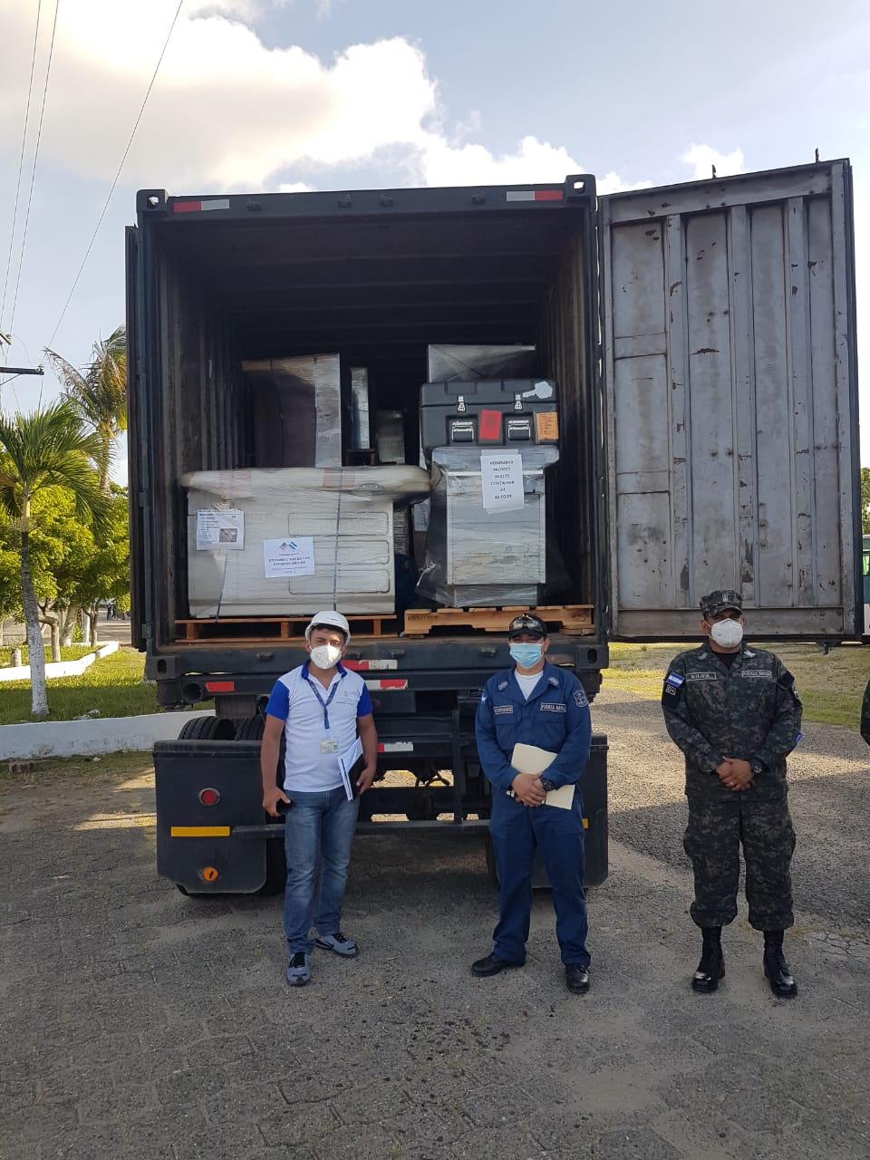 Estados Unidos dona equipo médico y mobiliario en Choluteca