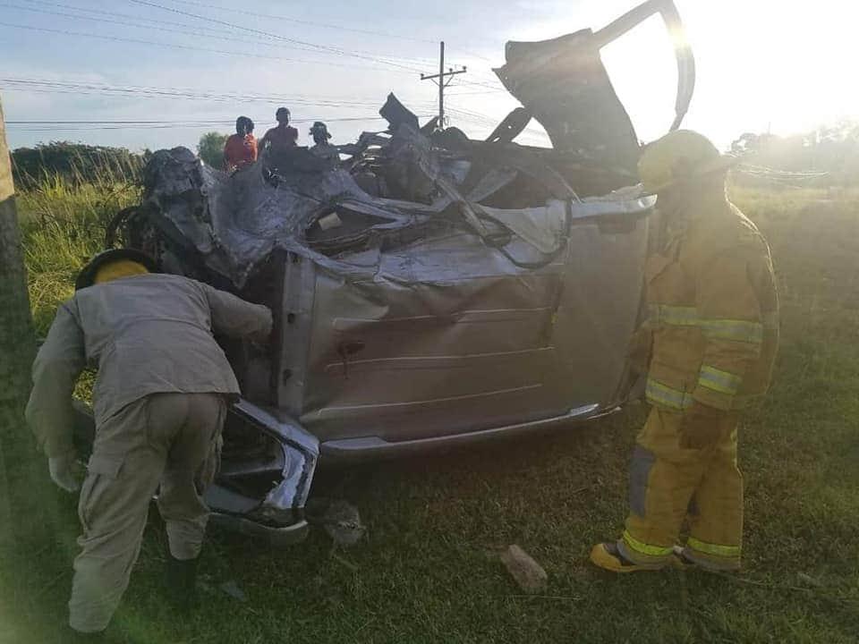 Mueren siete personas en accidente vial