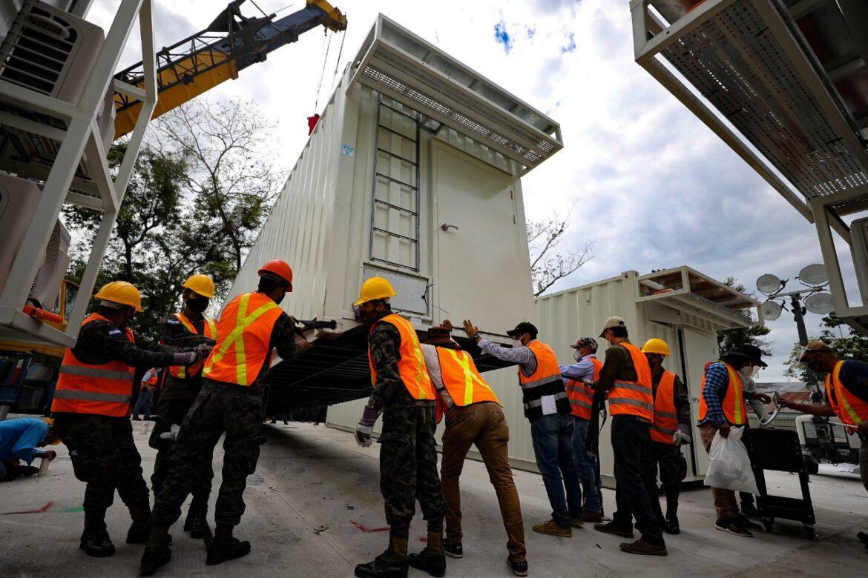 Caravana trasladará hospital móvil hacia Tegucigalpa el próximo martes