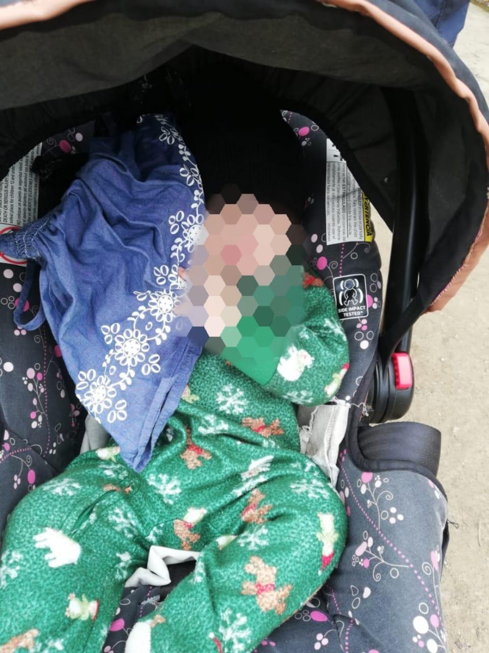Funcionarios de investigación recuperan bebé reportada como raptada en el mes de enero