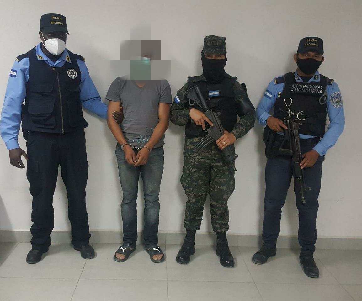 Sospechoso de dar muerte a ciudadano es detenido en una pronta acción policial y militar