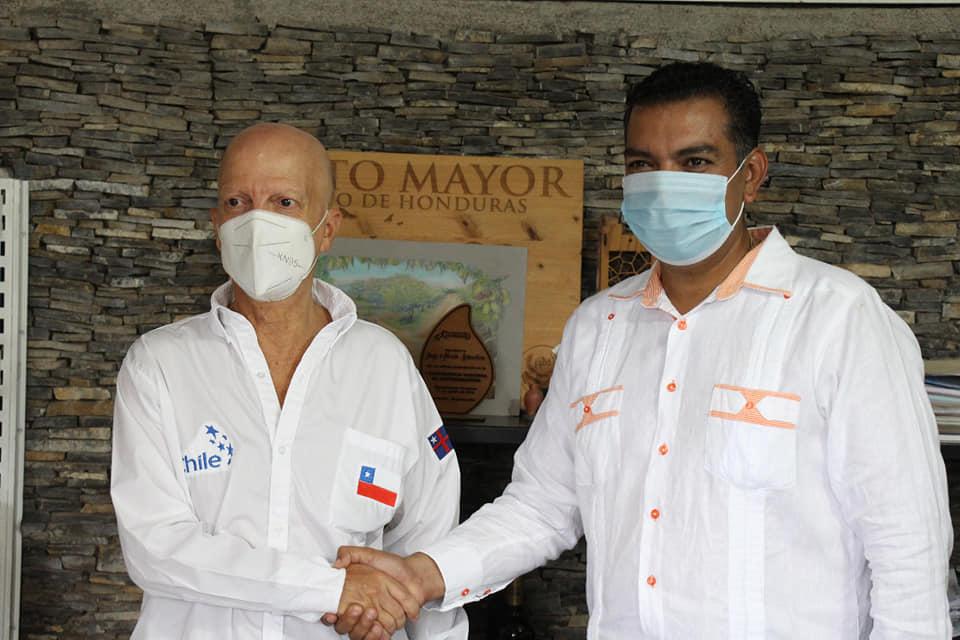 Embajador de Chile visitó Siguatepeque