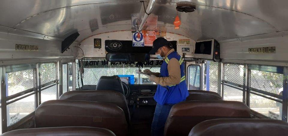 Mañana inician los pilotajes en el transporte público de pasajeros