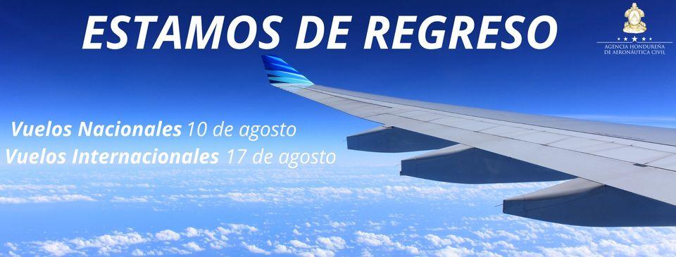 Listos cuatro aeropuertos para reanudar vuelos desde mañana