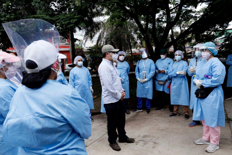 Presidente Hernández agradece a Brigadas Médicas que han atendido a más de 300.000 personas en la capital