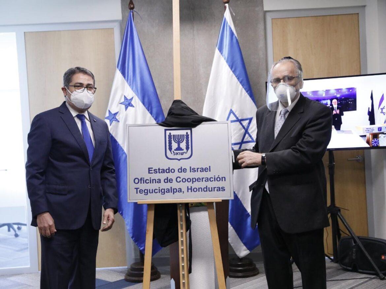 Presidente Hernández participa en inauguración de la Oficina de Cooperación Israelí en Honduras
