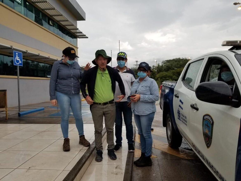 En Comayagua funcionarios de la Policía Nacional localizan a maestro desaparecido