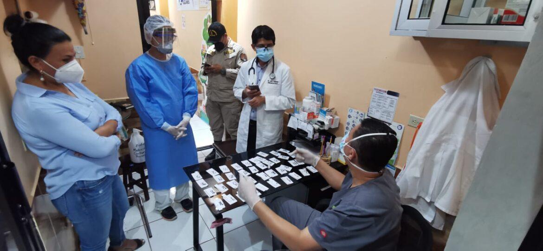 CODEM/ TAMIZAJE:  22.5% de  positividad en pruebas rápidas aplicadas en mercado «San Juan» de Siguatepeque