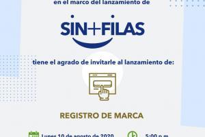 Gobierno Digital e Instituto de la Propiedad lanzan plataforma SIN+FILAS para agilizar registro de marcas