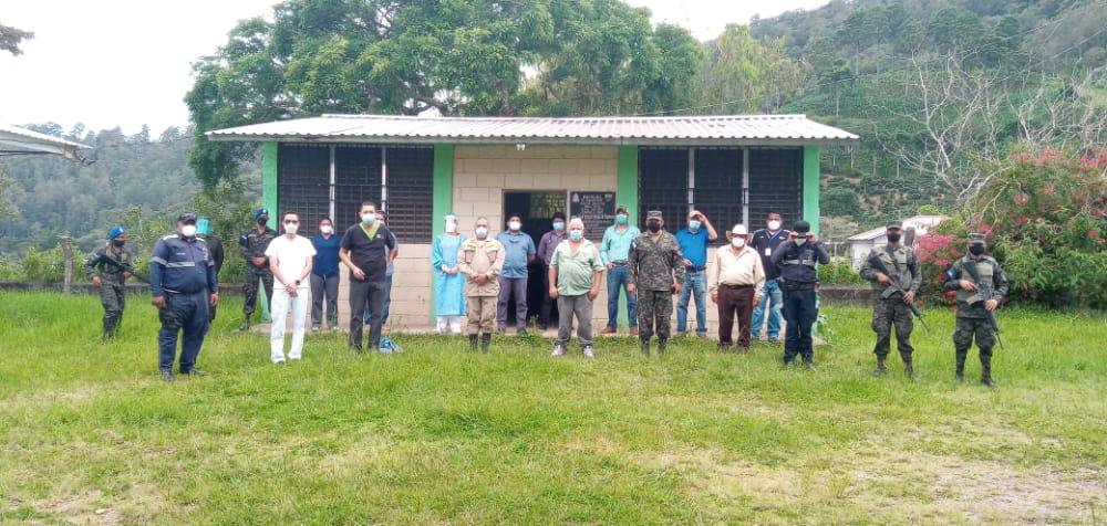CODEM/Siguatepeque: Realizan tamizaje  poblacional en la comunidad de El Zapote