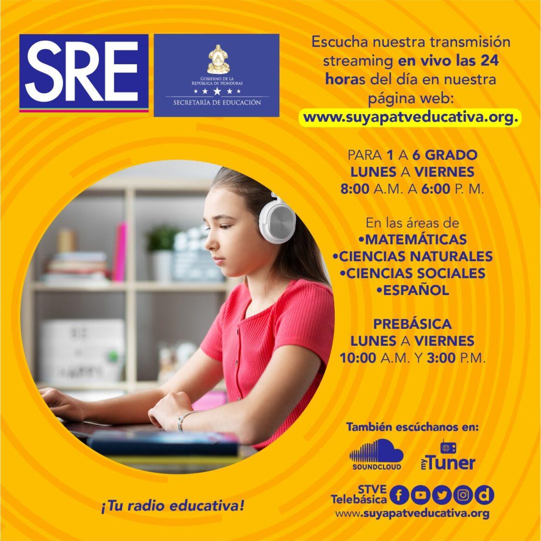 Secretaría de Educación también impartirá clases de pre-basica y básica vía digital