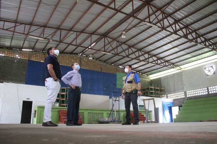 Alcalde de Comayagua supervisó los trabajos que se realizan para creación de triajes en la ciudad