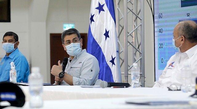 Presidente Hernández: Gobierno distribuye 250 millones de lempiras a alcaldías para atender emergencia por covid-19