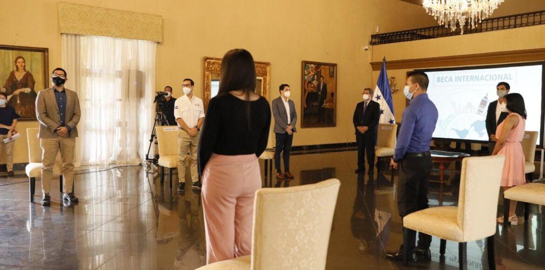 Programa Presidencial de Becas entregó 92 nuevas oportunidades de estudio a hondureños, para estudios de postgrado en el exterior