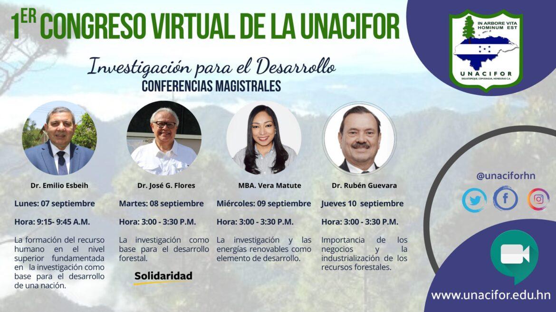 """UNACIFOR realizará primer congreso virtual «Investigación para el desarrollo"""""""
