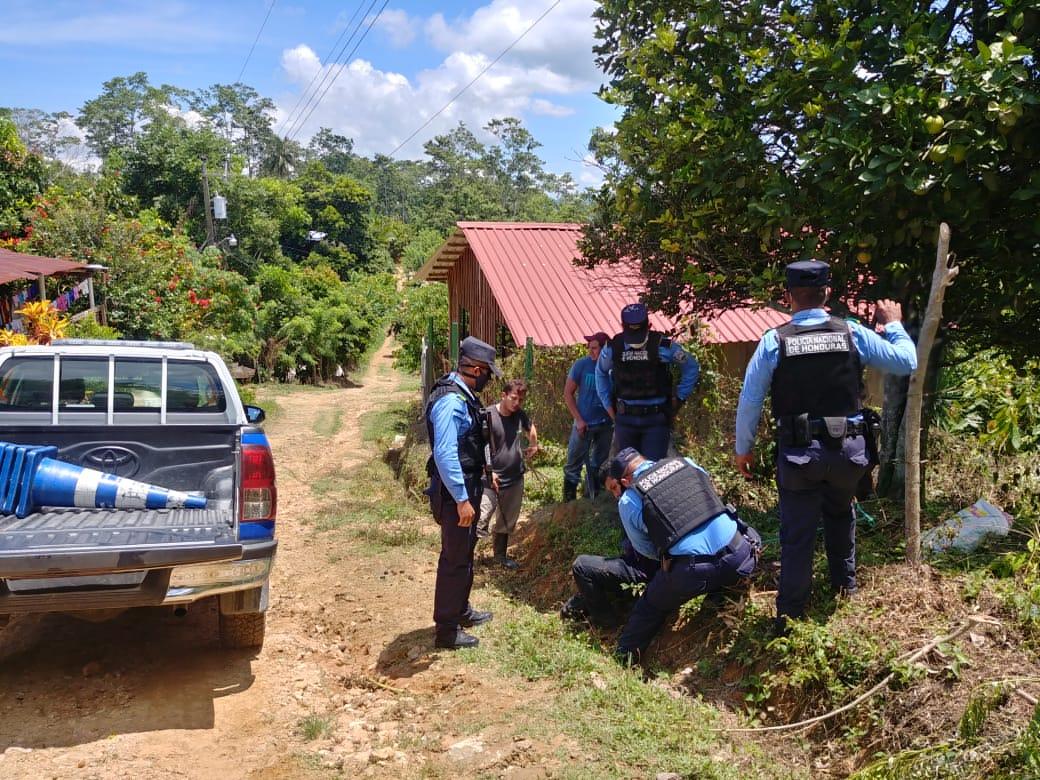 Sujeto que intento dar muerte a su suegra y una niña de once años de edad, es capturado por agentes preventivos