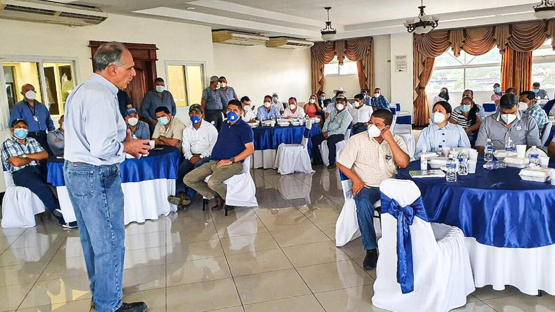 Estructura del Partido Nacional en Copán se suma en apoyo a Papi a la Orden