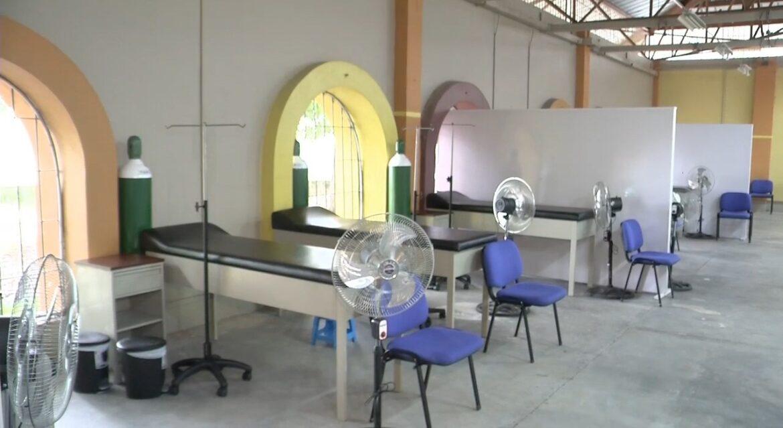 Centro de triaje de La Entrada es fortalecido por Fuerza Honduras para atender a 180 personas a diario