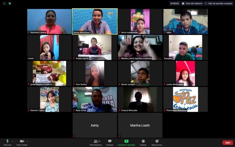 Con alegría y entusiasmo celebran Día del Niño virtualmente
