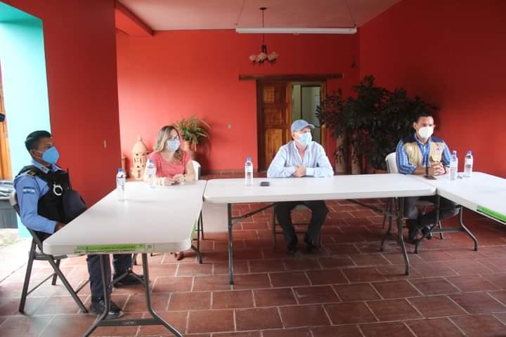 Alcaldía de Comayagua, CODEM y SINAGER inicia con  la reapertura de restaurantes de esta ciudad