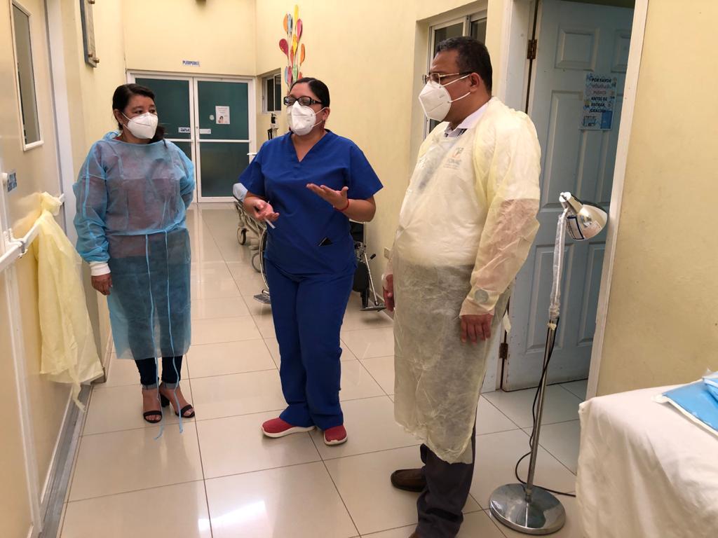 FONAC visita Siguatepeque para conocer condiciones en las que funciona el centro de salud «Dr. Gustavo Boquín»