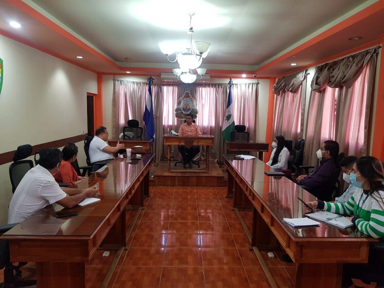 FONAC  conoce avance de «Fuerza Honduras» en Siguatepeque