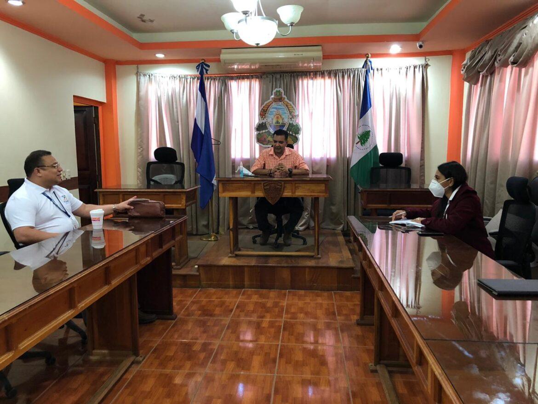 Delegación  del FONAC se reunió con alcalde de Siguatepeque