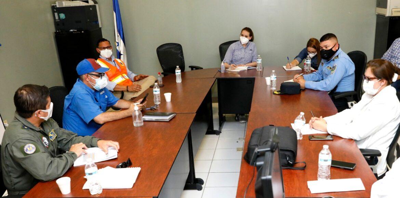 Comayagua es ejemplo de trabajo articulado en la ejecución de Fuerza Honduras