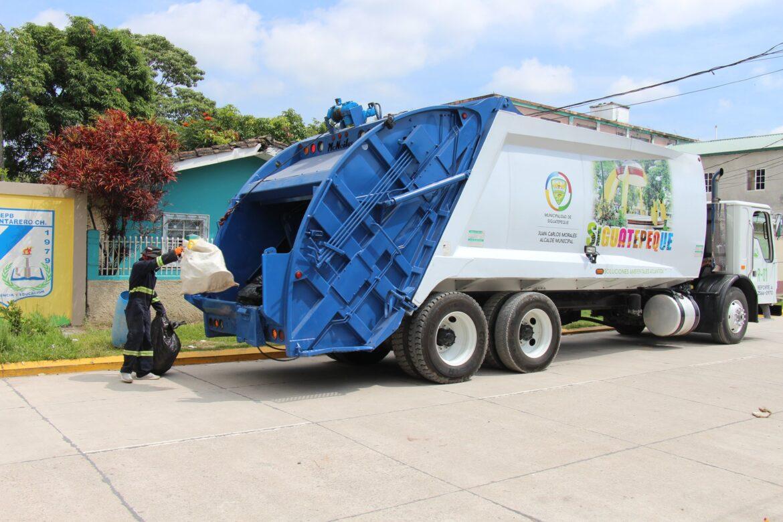 Tres unidades especializadas en recolección de desechos sólidos funcionan en Siguatepeque
