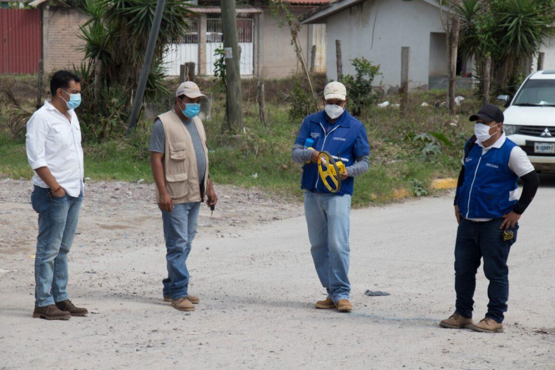 Pavimentarán 2 kilómetros desde el barrio Suyapita a la colonia Antonio Mata