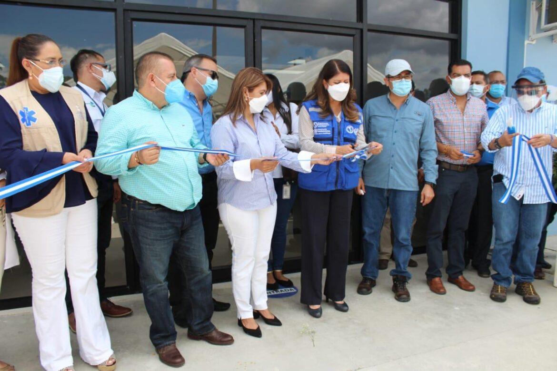 OPS/OMS hace entrega a la SESAL de Centro de triaje y estabilización en el Policlínico de Siguatepeque