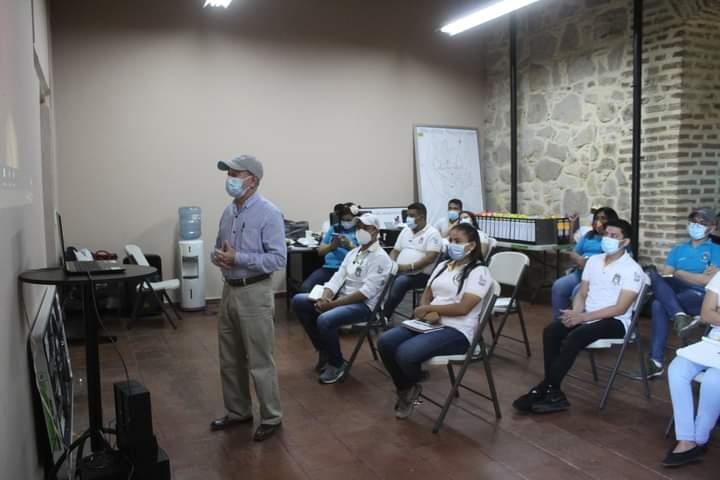 Colaboradores de la alcaldía de Comayagua son capacitados por la Escuela Social de Andalucía. España
